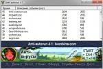 Интерфейс программы Anti Autorun