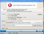 Интерфейс программы Youtube Downloader HD