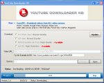 Пример загрузки видео в Youtube Downloader HD