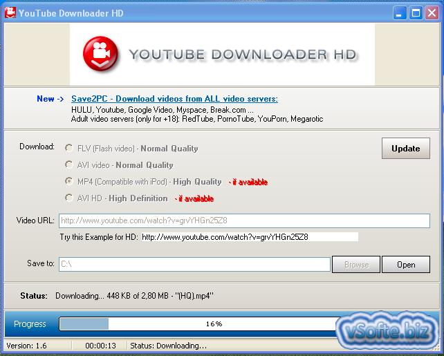 Скачать программу youtube downloader hd бесплатно