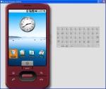 Пример работы эмулятора Android SDK