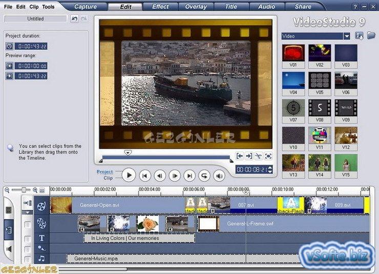 Videostudio 11 Русская Версия