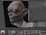 Редактирование модели в Blender 3D