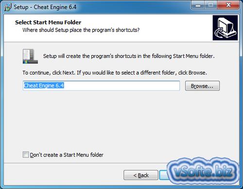 Определение папки программы