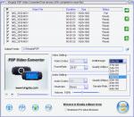 Добавление файлов для конверта в Kingdia PSP Video Converter