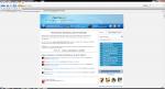 Просмотр сайта в браузере Flock