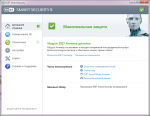 Домашняя страница ESET NOD32 Smart Security