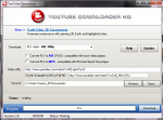 Главное окно Youtube Downloader HD