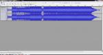 Загрузка аудиотрека в Audacity