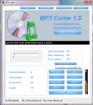 Главное окно Mp3 Cutter