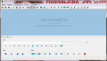Главное окно Mp3DirectCut