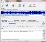Обрезка аудиотрека в Direct MP3 Splitter