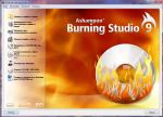 Главное окно Ashampoo Burning Studio