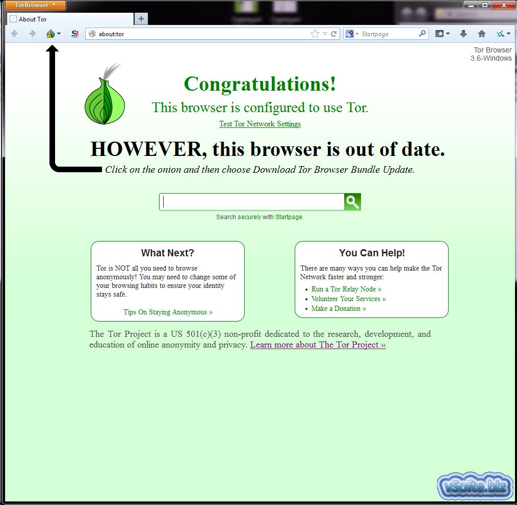 Скачать браузер Тор на русском для Windows бесплатно