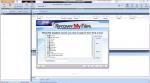 Выбор типов файлов для восстановления в Recovery My Files