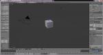Главное окно Blender 3D