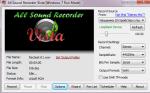 Главное окно All Sound Recorder