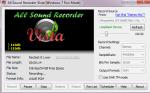 Запись звука в All Sound Recorder