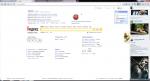 Просмотр сайта в браузере Амиго
