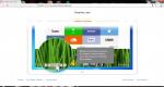 Окно приветствия в Яндекс браузере