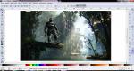 Редактирование изображения в Inkscape