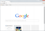 Chromium окно браузера