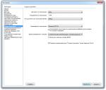 Dreamweaver CS3 окно настроек