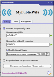 MyPublicWiFi главное окно