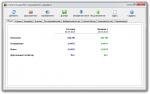 NetWorx главное окно программы