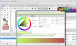 Synfig Studio редактор градиентов