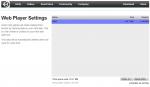Unity Web Player очистка кеша