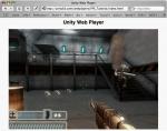 Unity Web Player главное окно