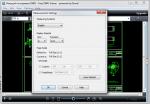 Free DWG Viewer параметры измерения