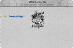 WiNToBootic процесс форматирования флешки