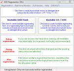 HDD Regenerator окно программы
