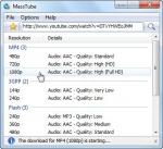MassTube настройки программы